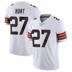 Kareem Hunt Cleveland Browns Men's Limited Vapor Untouchable Nike Jersey - White