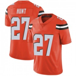 Kareem Hunt Cleveland Browns Youth Limited Alternate Vapor Untouchable Nike Jersey - Orange