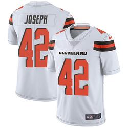Karl Joseph Cleveland Browns Men's Limited Vapor Untouchable Nike Jersey - White