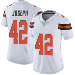 Karl Joseph Cleveland Browns Women's Limited Vapor Untouchable Nike Jersey - White