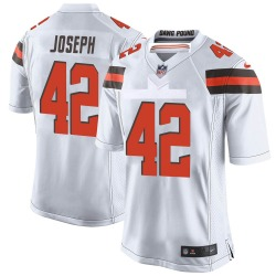 Karl Joseph Cleveland Browns Youth Game Nike Jersey - White