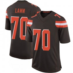 Kendall Lamm Cleveland Browns Men's Limited 100th Vapor Nike Jersey - Brown