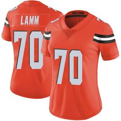 Kendall Lamm Cleveland Browns Women's Limited Alternate Vapor Untouchable Nike Jersey - Orange