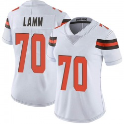 Kendall Lamm Cleveland Browns Women's Limited Vapor Untouchable Nike Jersey - White