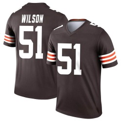 Mack Wilson Cleveland Browns Men's Legend Nike Jersey - Brown