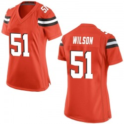 Mack Wilson Cleveland Browns Women's Game Alternate Nike Jersey - Orange