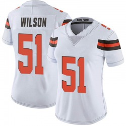 Mack Wilson Cleveland Browns Women's Limited Vapor Untouchable Nike Jersey - White