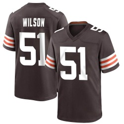 Mack Wilson Cleveland Browns Youth Game Team Color Nike Jersey - Brown