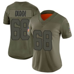 Michael Dunn Cleveland Browns Women's Limited 2019 Salute to Service Nike Jersey - Camo