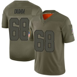Michael Dunn Cleveland Browns Youth Limited 2019 Salute to Service Nike Jersey - Camo