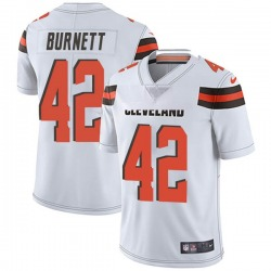 Morgan Burnett Cleveland Browns Men's Limited Vapor Untouchable Nike Jersey - White