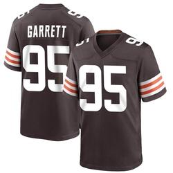 Myles Garrett Cleveland Browns Men's Game Team Color Nike Jersey - Brown