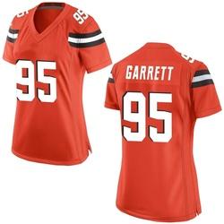 Myles Garrett Cleveland Browns Women's Game Alternate Nike Jersey - Orange