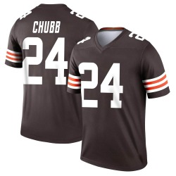 Nick Chubb Cleveland Browns Youth Legend Nike Jersey - Brown