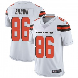 Pharaoh Brown Cleveland Browns Men's Limited Vapor Untouchable Nike Jersey - White