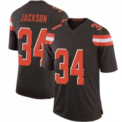 Robert Jackson Cleveland Browns Men's Limited 100th Vapor Nike Jersey - Brown