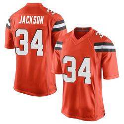 Robert Jackson Cleveland Browns Youth Game Alternate Nike Jersey - Orange