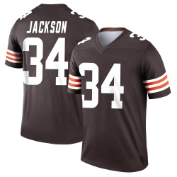 Robert Jackson Cleveland Browns Youth Legend Nike Jersey - Brown