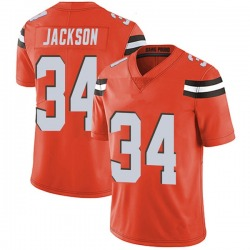 Robert Jackson Cleveland Browns Youth Limited Alternate Vapor Untouchable Nike Jersey - Orange