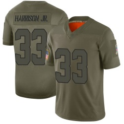 Ronnie Harrison Jr. Cleveland Browns Men's Limited 2019 Salute to Service Nike Jersey - Camo