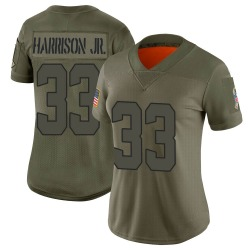 Ronnie Harrison Jr. Cleveland Browns Women's Limited 2019 Salute to Service Nike Jersey - Camo