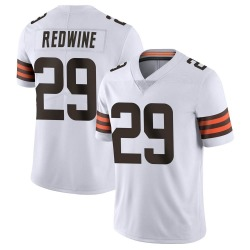 Sheldrick Redwine Cleveland Browns Men's Limited Vapor Untouchable Nike Jersey - White