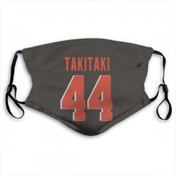 Sione Takitaki Cleveland Browns Reusable & Washable Face Mask