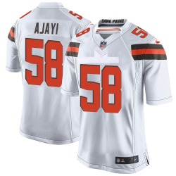 Solomon Ajayi Cleveland Browns Youth Game Nike Jersey - White