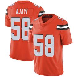 Solomon Ajayi Cleveland Browns Youth Limited Alternate Vapor Untouchable Nike Jersey - Orange