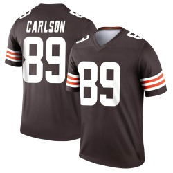 Stephen Carlson Cleveland Browns Men's Legend Nike Jersey - Brown