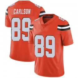 Stephen Carlson Cleveland Browns Men's Limited Alternate Vapor Untouchable Nike Jersey - Orange