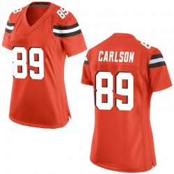 Stephen Carlson Cleveland Browns Women's Game Alternate Nike Jersey - Orange