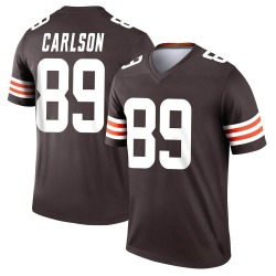 Stephen Carlson Cleveland Browns Youth Legend Nike Jersey - Brown