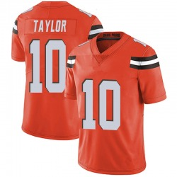 Taywan Taylor Cleveland Browns Men's Limited Alternate Vapor Untouchable Nike Jersey - Orange