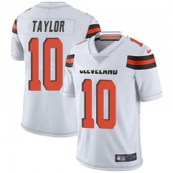 Taywan Taylor Cleveland Browns Men's Limited Vapor Untouchable Nike Jersey - White