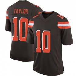 Taywan Taylor Cleveland Browns Youth Limited 100th Vapor Nike Jersey - Brown