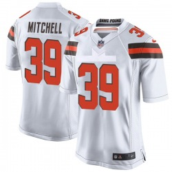 Terrance Mitchell Cleveland Browns Youth Game Nike Jersey - White