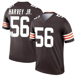 Willie Harvey Cleveland Browns Youth Legend Nike Jersey - Brown