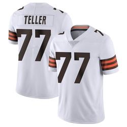 Wyatt Teller Cleveland Browns Men's Limited Vapor Untouchable Nike Jersey - White