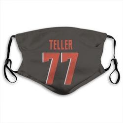 Wyatt Teller Cleveland Browns Reusable & Washable Face Mask
