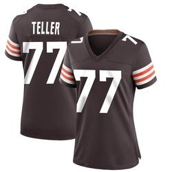 Wyatt Teller Cleveland Browns Women's Game Team Color Nike Jersey - Brown