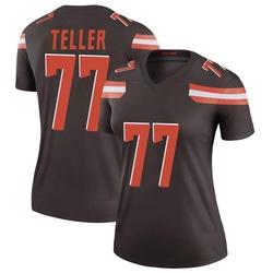 Wyatt Teller Cleveland Browns Women's Legend Nike Jersey - Brown