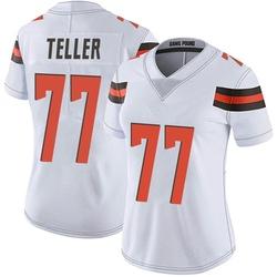 Wyatt Teller Cleveland Browns Women's Limited Vapor Untouchable Nike Jersey - White