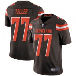 Wyatt Teller Cleveland Browns Youth Limited Team Color Vapor Untouchable Nike Jersey - Brown