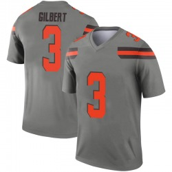 Youth Garrett Gilbert Cleveland Browns Youth Legend Inverted Silver Nike Jersey