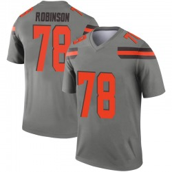 Youth Greg Robinson Cleveland Browns Youth Legend Inverted Silver Nike Jersey